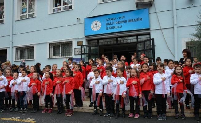 Halit Derviş İbrahim İlkokulu İletişim