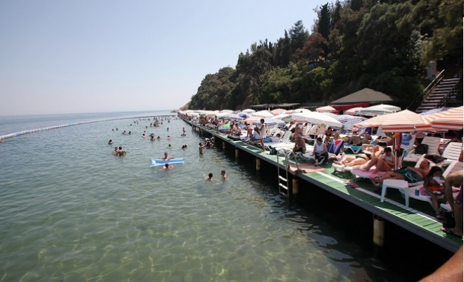 Kartal Belediyesi Büyükada Sosyal Tesisleri Plajı