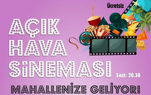 Ataşehir'de açık hava sineması