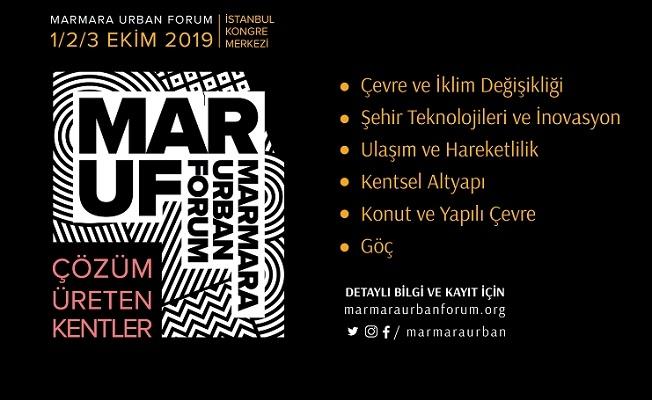 Marmara Uluslararası Kent Forumu başlıyor