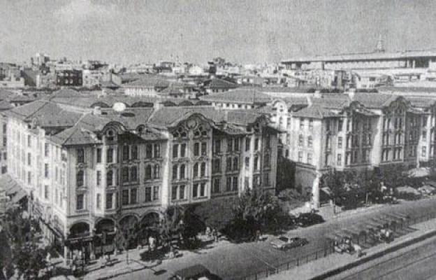 İstanbul'da ilk betonarme bina: Harikzedegân Apartmanları