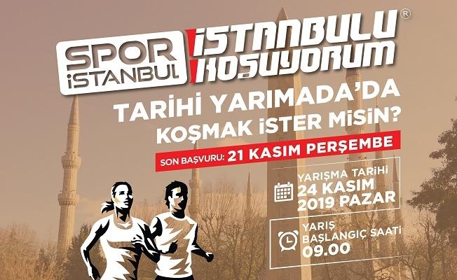 """""""İstanbul'u Koşuyorum"""" Tarihi Yarımada Koşusu"""