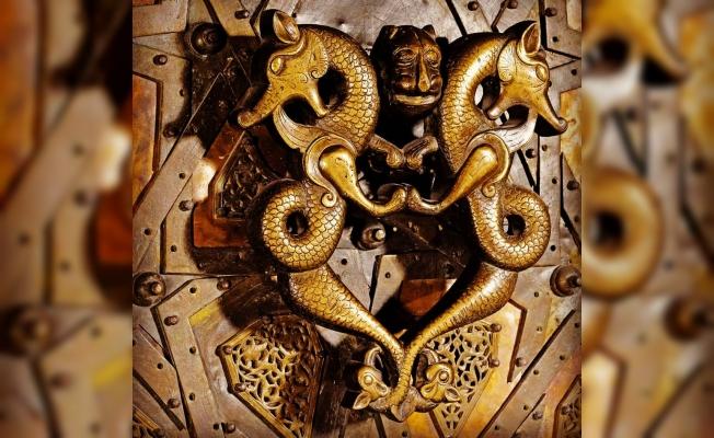 Türk ve İslam Eserleri Müzesin'de Cizre'nin Ejderli  Kapı Tokmağı