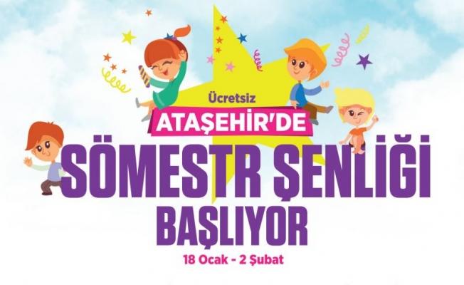 Ataşehir'de sömestir tatili etkinlikleri