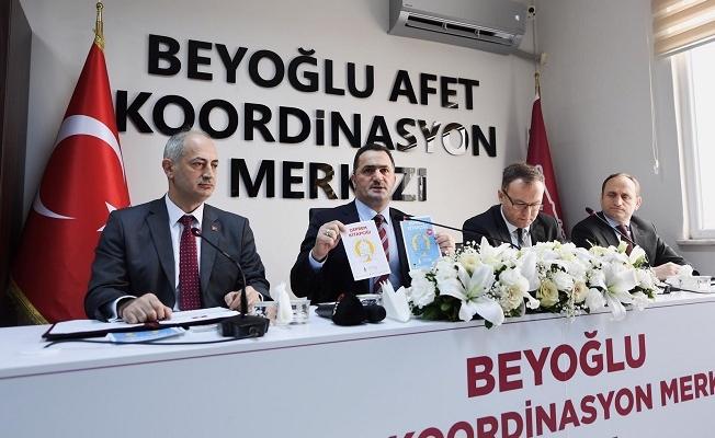 Beyoğlu Afet Koordinasyon Merkezi açıldı