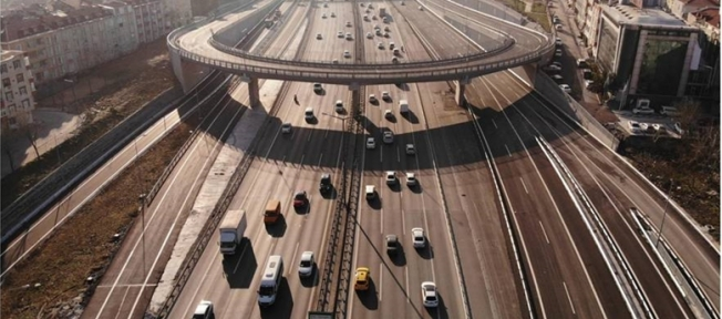 Tem Metris Köprülü Kavşağı Açılıyor