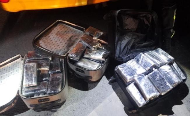 İstanbul Narkotik Şube'den 2 ton 384 kiloluk uyuşturucu operasyonu