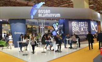 Assan Alüminyum, ALUEXPO 2017 fuarında yeni yatırımları tanıttı.