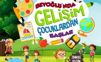 Beyoğlu Belediyesi 7-14 Yaş Ücretsiz Eğitim Kursları