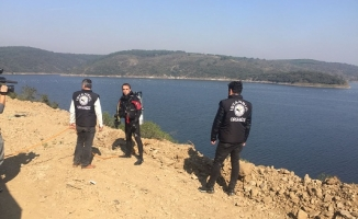Çete otomobilleri Alibeyköy Barajına gömmüş