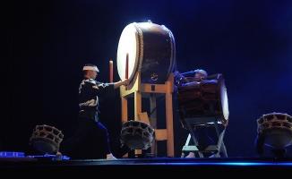 Efsanevi Japon davul grubu 'Ondekoza' Türkiye'de