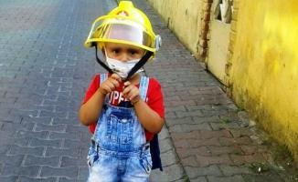 İstanbul İtfaiyesinin acı günü, küçük Ali hayatını kaybetti