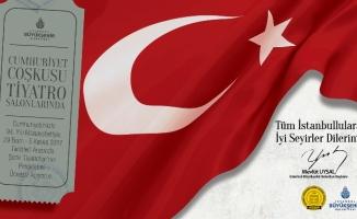 İstanbul Şehir Tiyatroları 29 Ekim'de ücretsiz