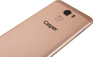 Türkiye'nin 20 Megapiksel ön kameralı akıllı telefonu: Casper VIA P2