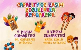 Capacity AVM Kasım'da çocuklarla rengarenk