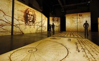 Dünyanın  en kapsamlı Leonardo Da Vinci sergisi :Dahi İstanbul'da açılıyor