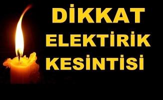 Hafta sonu elektriksiz kalmayın