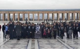 Oğuzkaan Koleji Öğrencileri Anıtkabir'de