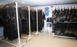 Türk Balık Adamları Spor Kulübü Tesisleri