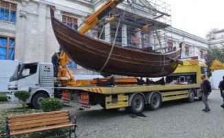 Yenikapı 12 Ortaçağ Gemisinin Rekonstrüksiyonu sergileniyor