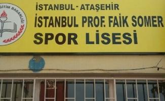 ATAŞEHİR-İstanbul Prof Faik Somer Spor Lisesi