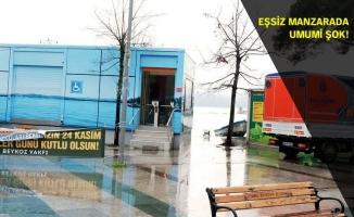 Beykoz'da lebi derya tuvalet şikayet konusu oldu