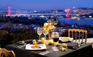 Conrad İstanbul Bosphorus'tan Boğaz manzarası eşliğinde Noel ve Yılbaşı Kutlamaları
