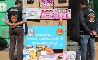 İstanbul'da zehirli oyuncak operasyonu