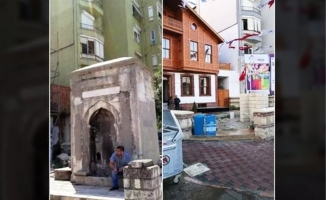 Kadıköy'de 224 yıllık namazgah çeşmesi yıkıldı