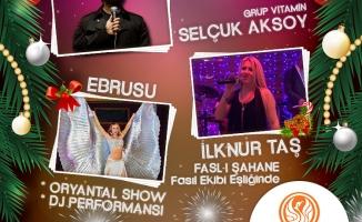 Kadıköy Kuşdili More & More Meyhanesi'nde 2018 yılbaşı galası