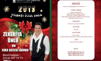 The Green Park Hotel Merter, 2018 Yılbaşı Programı