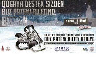 Beyoğlu Belediyesi Buz Pisti
