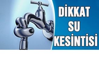 Küçükçekmece, Bakırköy ve Avcılar'da su kesintisine dikkat!