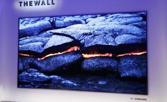 """Samsung'dan Dünyanın ilk Modüler LED TV'si """"The Wall"""""""