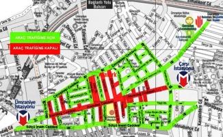 Ümraniye Alemdağ Caddesi yayalaştırılıyor