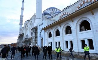 Çamlıca Camii'nde sona gelindi