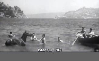İstanbul'un 57 yıl önceki görüntüleri ortaya çıktı
