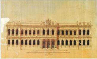 Posta ve Telgraf Nezareti binasının öyküsü (Sirkeci'de Büyük Postahane )