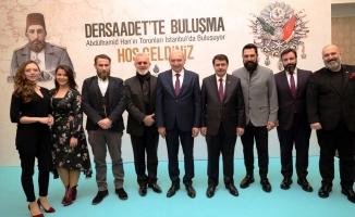 Sultan II. Abdülhamid Han'ın torunları İstanbul'da buluştu