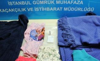 Brezilya'dan İstanbul'a çocuk kıyafetleriyle uyuşturucu sevkiyatı