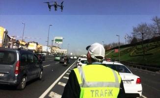 İstanbul trafiğinde drone dönemi