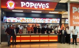 Popeyes® Cevahir Haliç AVM'de açıldı