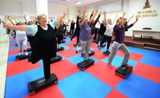 Beyoğlu'nda Semt Konaklarında Spor Salonları Açıldı