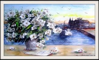 ''Celal Günaydın Suluboya Resim Sergisi'' Venüs Sanat'ta