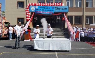 Prof. Dr. Ahat Andıcan Ortaokulu Yol Tarifi