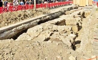 Üsküdar'da Osmanlı döneminden kalıntılar ortaya çıktı