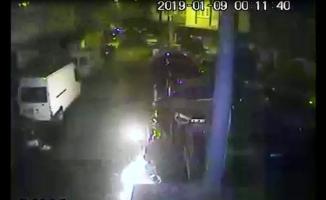 Beyoğlu'nda bombalı saldırı kamerada