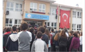 Lütfi Banat Ortaokulu, Nerede
