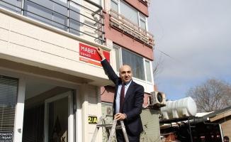 Mabet Sokak'ın adı Dadyan Sokak olarak değişti