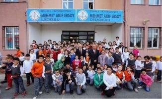 Mehmet Akif Ersoy Ortaokulu Yol Tarifi